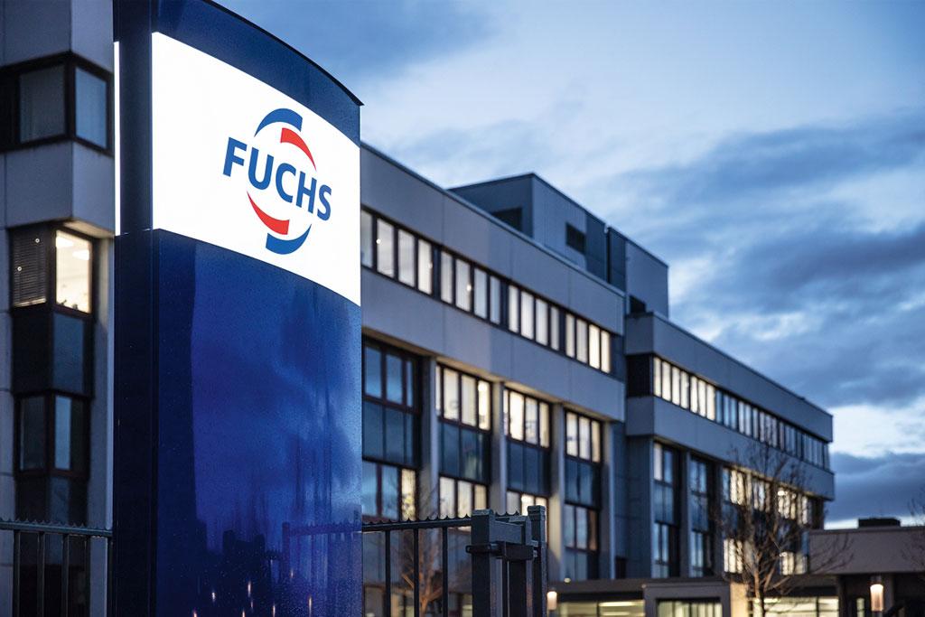 A sede do Grupo FUCHS em Mannheim na Alemanha